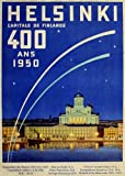 Vintage Travel Finnland Helsinki Exposition des Beaux-Arts