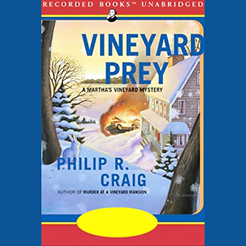 Vineyard Prey audiobook cover art