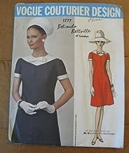 Vintage VOGUE COUTURIER DESIGN PATTERN #1777 SIZE: 14 ***MISSES' ONE-PIECE DRESS*** A Belinda Bellville of London Pattern