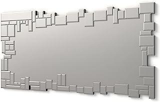 DekoArte E023 - Miroirs Muraux Décoratifs Et Modernes   Décoration De Miroirs pour Le Salon, Chambre, Entrée, Couloir   Gr...