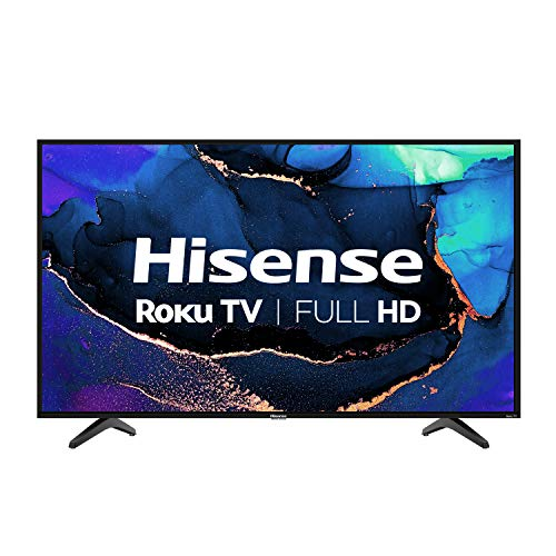 Hisense 40H4G- 40 inch Smart Full Array LED 1080P Roku TV with DTS TruSurround, 3HDMI (Canada Model) (2020)