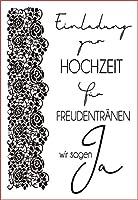 ドイツ語透明クリアシリコンスタンプ/DIYスクラップブッキング/ poアルバム用シール装飾クリアスタンプG999