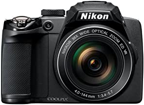 Nikon COOLPIX P500 12.1 CMOS Digital Camera with 36x NIKKOR Wide-Angle Optical Zoom Lens and Full HD 1080p Video (Black)