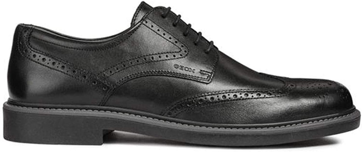 Geox Men's Oxford shoes U Silmor C Black U845SC