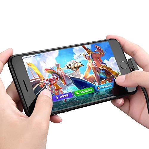 『0.2m 0.5m 1m 2m 3m Micro USB ケーブル android【MYLB】両端 L型 USB両面挿し急速充電 android ケーブル 高速データ転送 ナイロン編組み 10000回+の曲折テストPS4、Galaxy、Huawei、Nexus、Sharp、Hujitsu、Xbox、カメラ等Android Micro USB対応 (0.2m, ブラック)』の5枚目の画像