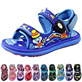 Kids Classic Outdoor Water Sandals for Boys: 1611 Blue, EU24...