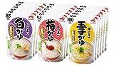 味の素 おかゆ 3種×6個(白がゆ6個、�