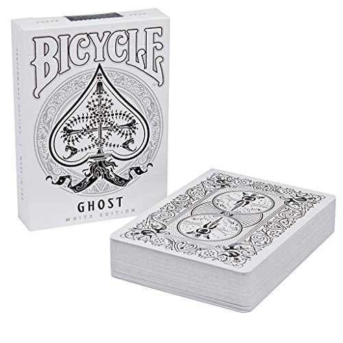 White Edition Ellusionist Bicycle Ghost Legacy Spielkarten