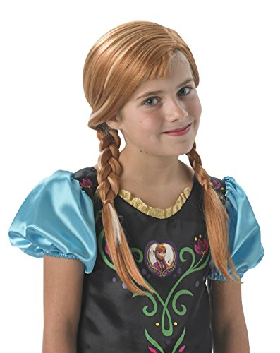 Disney Frozen Kids Licensed Accessory - Parrucca Anna per ragazze