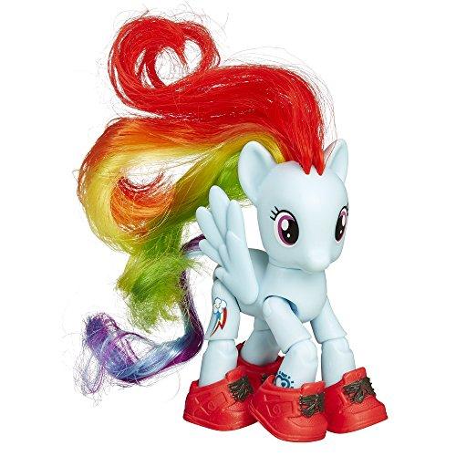 My Little Pony – Explore Equestria – Visite Touristique de Rainbow Dash – Figurine Articulée & Accessoires