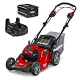 Snapper HD 48V MAX Cordless Electric Self-Propelled 20-Inch Lawn Mower Kit with...