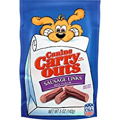 Contains 1 5 Oz Pouch The Look And Taste Of Real Beef Sausage Links Perfectly Sized Dog Treats For Taking On The Go Delicious Aroma And Chewy Texture In A Snack Dogs Love Made In The Usa