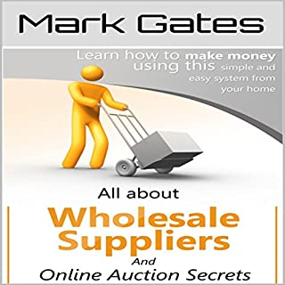 All About Wholesale Suppliers and Online Auction Secrets audiobook cover art