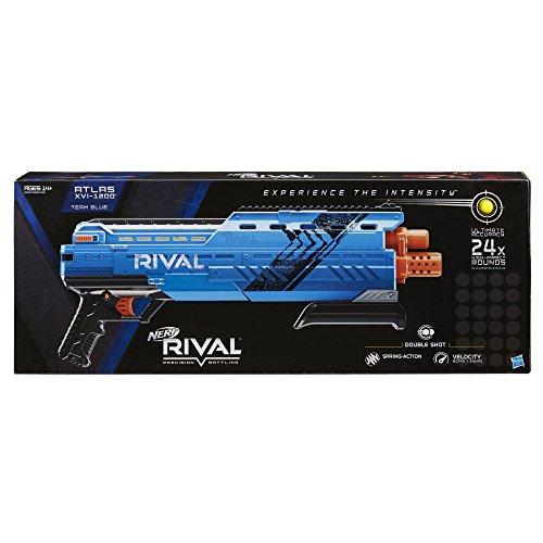 Nerf Rival Atlas XVI-1200 Blaster Toy, Blue