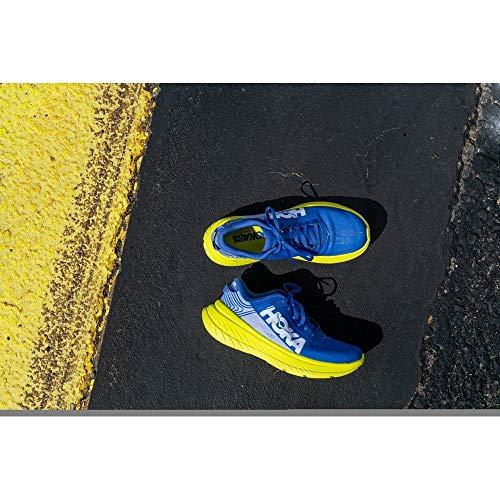 HOKA(HOKA)CARBONX1102886-ABEP(ブルー×イエロー/25.0/Men's)