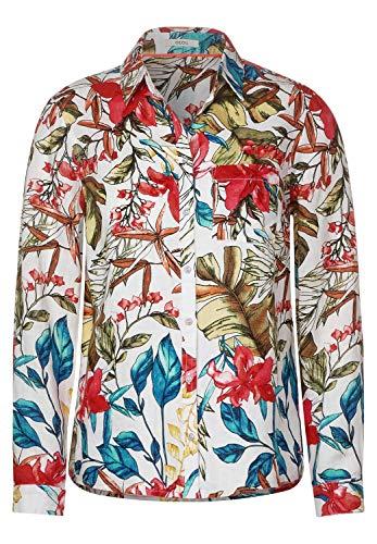 Cecil Damen Hemdbluse aus Leinen White XS