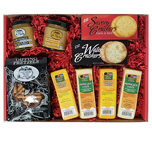 Cheese and Crackers Gift Basket