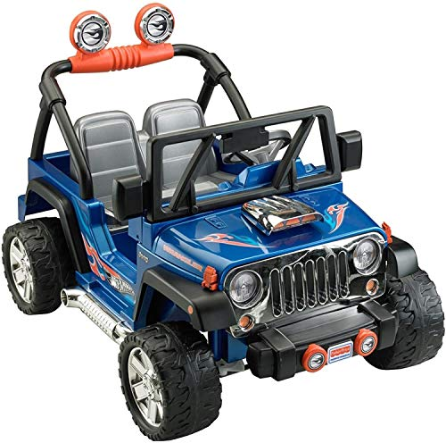 Power Wheels Hot Wheels Jeep Wrangler,...