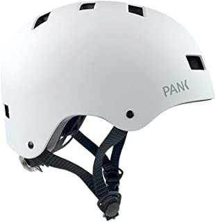 PANK URBAN MOBILITY Casco Patinete eléctrico, Bicicleta Urbana, Patines y Skateboard. Luz led Posterior Multi-posición. Diseño Ligero con ventilación Integral