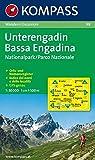 Unterengadin /Bassa Engadina - Nationalpark /Parco Nazionale: Wanderkarte. GPS-geeignet. 1:50000