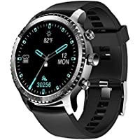 Tinwoo T20W Smart Watch with Heart Rate Monitor (Gray Black)