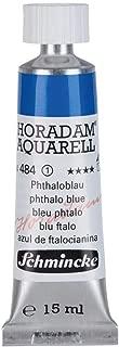 Schmincke Horadam Watercolor 15 ml Tube - Phthalo Blue