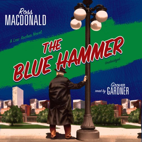 The Blue Hammer  audiobook cover art