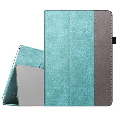 FINTIE Funda para Tablet 10 Pulgadas YOTOPT,  Compatible con BEISTA,  Dragon Touch K10,  YUNTAB K107/K17,  KXD,  ibowin,  SANNUO,  TOSICDO con Función de Soporte,  Verde Menta