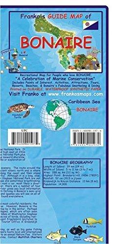 Bonaire Guide Map and Fishcard: Tauch- und Schnorchel Freizeitkarte