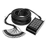 ah Cables K20C30 Stagebox - Consola de audio (16/4, 30 m)