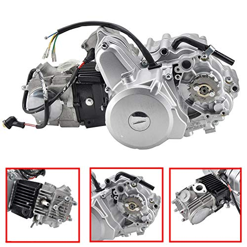 MotorFansClub 110CC Go Kart Engine Motor 4 Stroke Auto Electric Start Fit For Compatible With 4-Stroke 50CC 70CC 90CC 110CC Go Kart ATVs (Automatic Transmission)