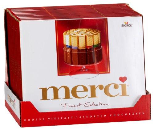 Merci Große Vielfalt, 10er Pack (10 x 250 g Packung)