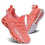スニーカーキッズ子供靴男の子女の子スポーツトレーニングファッション運動靴ランニング ジョギング日常着用軽便通気性オレンジ ピンク20.5cm