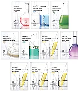 Innisfree Skin Clinic Mask Sheet (Variety Set - 10 Sheets)