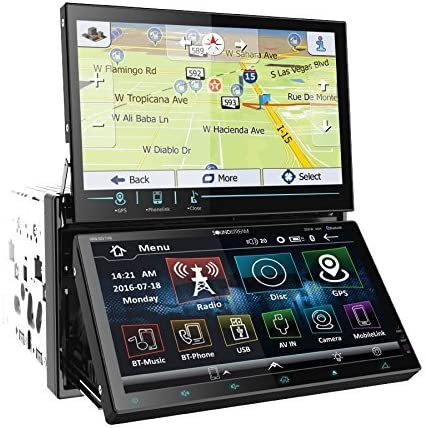 Soundstream VRN-DD7HB Max 73% OFF Double DIN Bluetooth Re In-Dash Oakland Mall Stereo Car