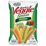 Sensible Portions Garden Veggie Straws, Sea Salt, 1 Ounce (Pack of 24)