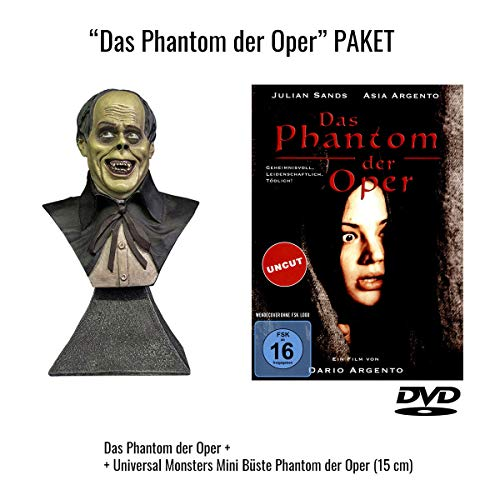Das Phantom der Oper + Universal Monsters Mini Büste Phantom der Oper (15 cm) - Limited Edition