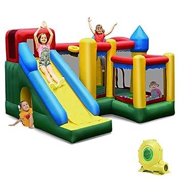 blast zone air walker bounce castle