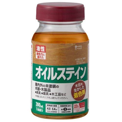 カンペハピオ オイルステインA ナチュラル 300ML