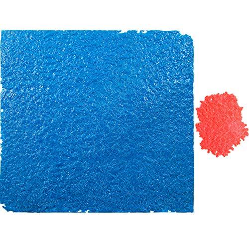 "VEVOR Concrete Texturing Skin, 36""x36"" Concrete Stamp Mat, Polyurethane Concrete Stamping Mats, Blue Slate Concrete Stamps, Concrete Texture Mat, Realistic Concrete Patterns Stamp for Walls/Floors"