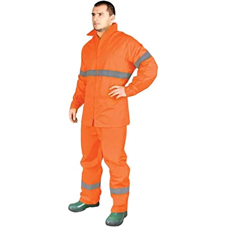 Reis kpl-Rainer_Pxl - Set di protezione antipioggia, misura XL, colore: Arancione