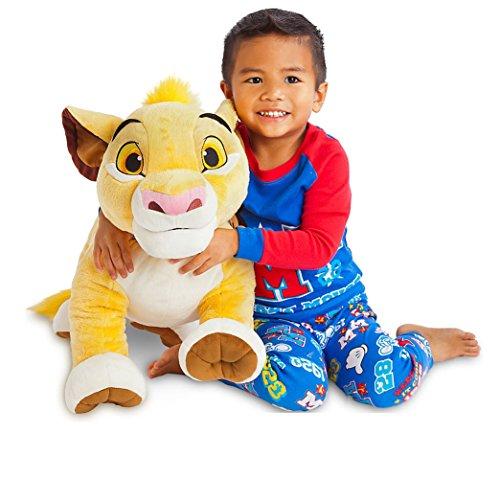 Disney Store Simba 44x45cm gigante peluche Il re leone originale grande