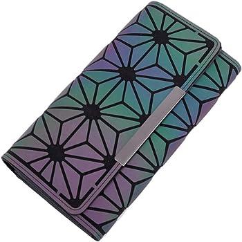 Portafoglio olografico Geometrico Uteruik Borsetta da Donna in Lattice Iridescente