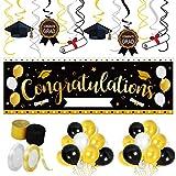 41PCS Graduation Car Decorations Party Supplies – Class of 2021 Congrats Grad Parade Décor