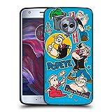 Head Case Designs sous Licence Officielle Popeye Famille Collage Coque Noir en Gel Doux Compatible...
