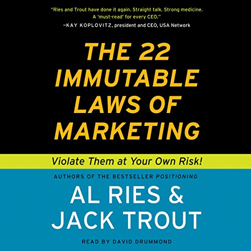 The 22 Immutable Laws of Marketing cover art