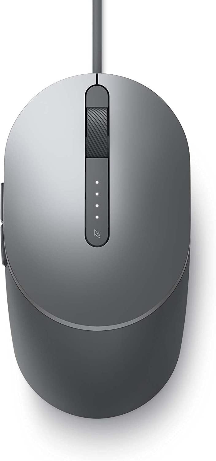 DELL - Peripheral B2B DELL Laser Wired Mouse - MS3220 Titan Gray SE