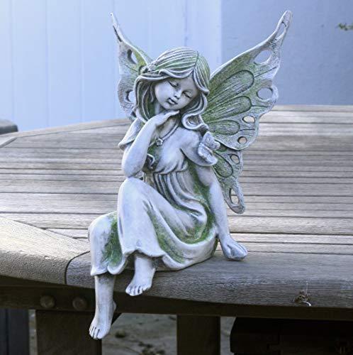 Fifi Fairy Resin 30cm sitting Garden Fairy Ornament/Statue