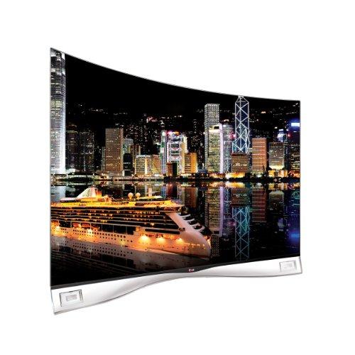 LG 55EA9809 138 cm (55 Zoll) Curved Fernseher (Full HD, Triple Tuner, 3D, Smart TV)