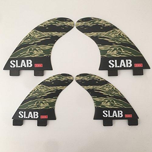Slab- surf fins Quad Art serie CDS Camo FCS